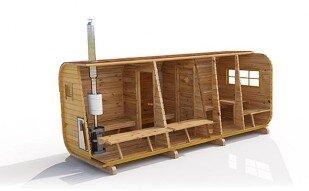 готовые бани бочка с доставкой и установкой цена до 100000 руб
