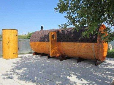 бочка баня доставка по московской области
